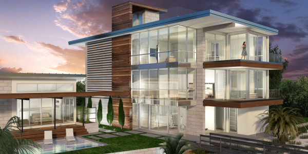 artist rendering of home